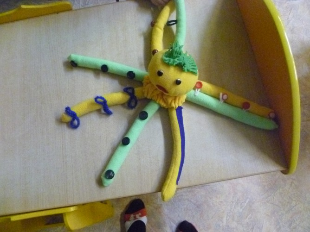 Игрушка своими рукам осьминог