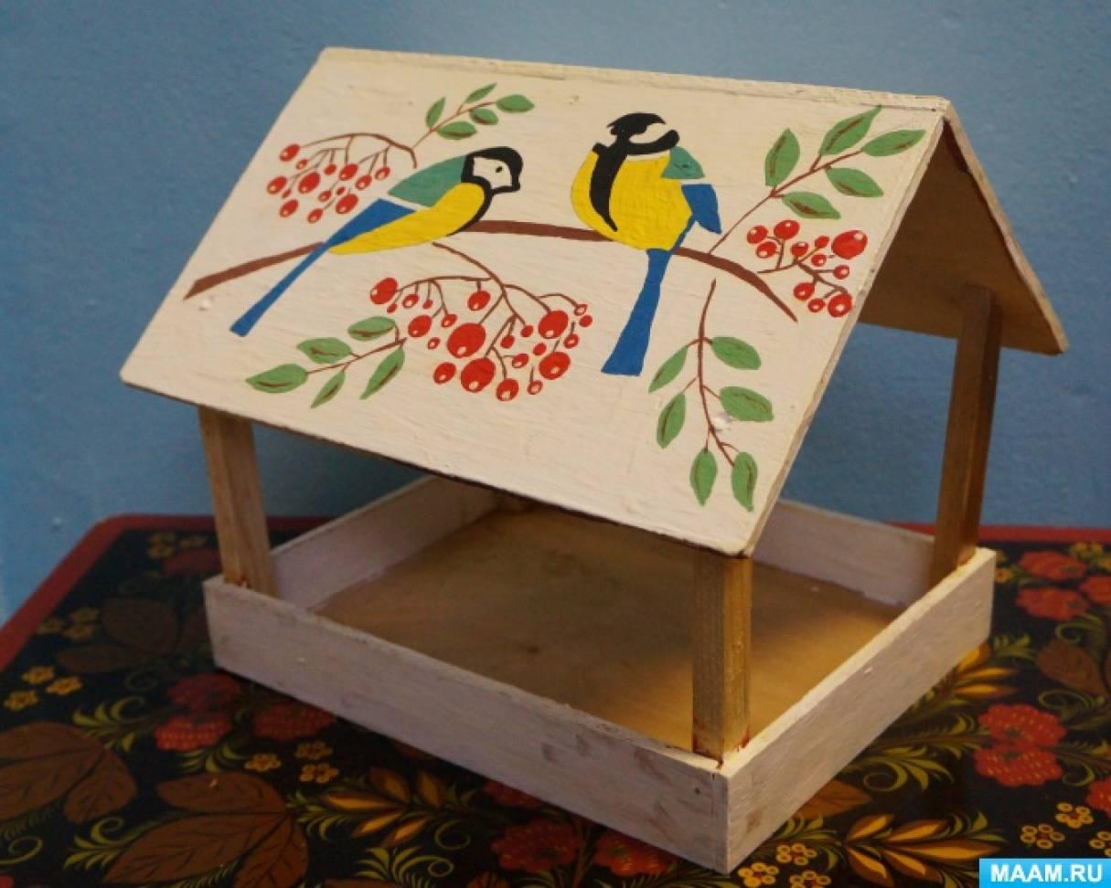 Оформление участка «Каждой птице нужен дом»