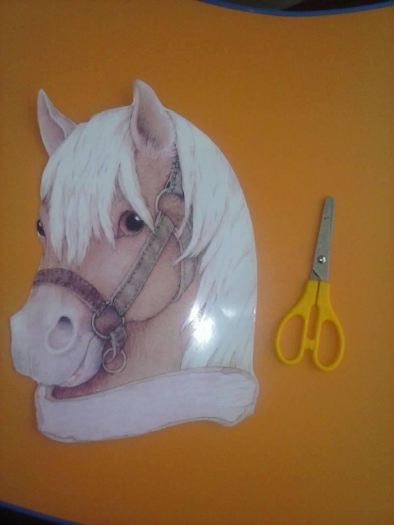 Голова лошади своими руками 498