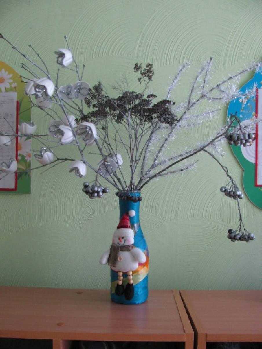 Букеты и композиция к новому году своими руками в детский сад
