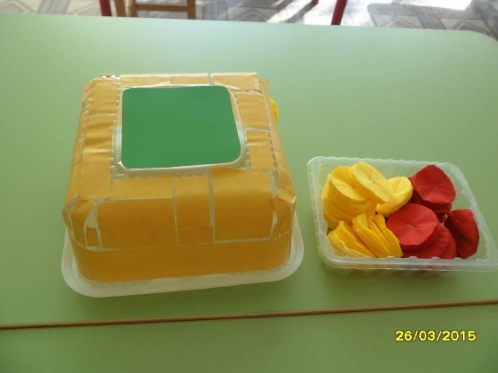 Поделки из коробки из под торта фото