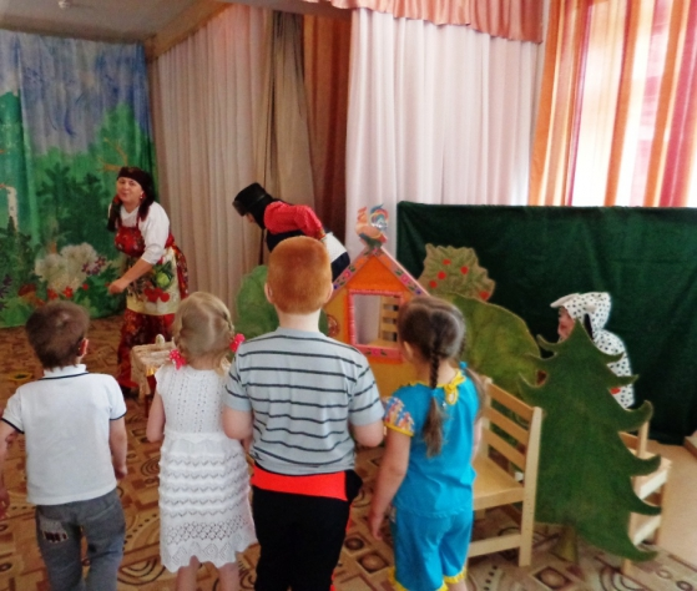 Сценарий развлечения «Домик в деревне»