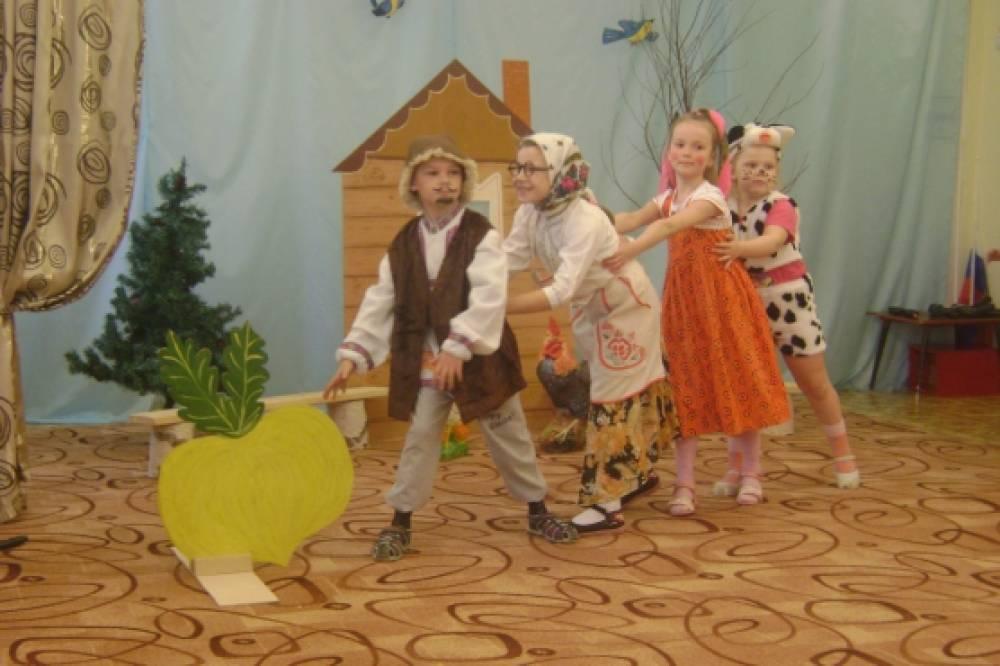 Сценарии нового года для детского театра