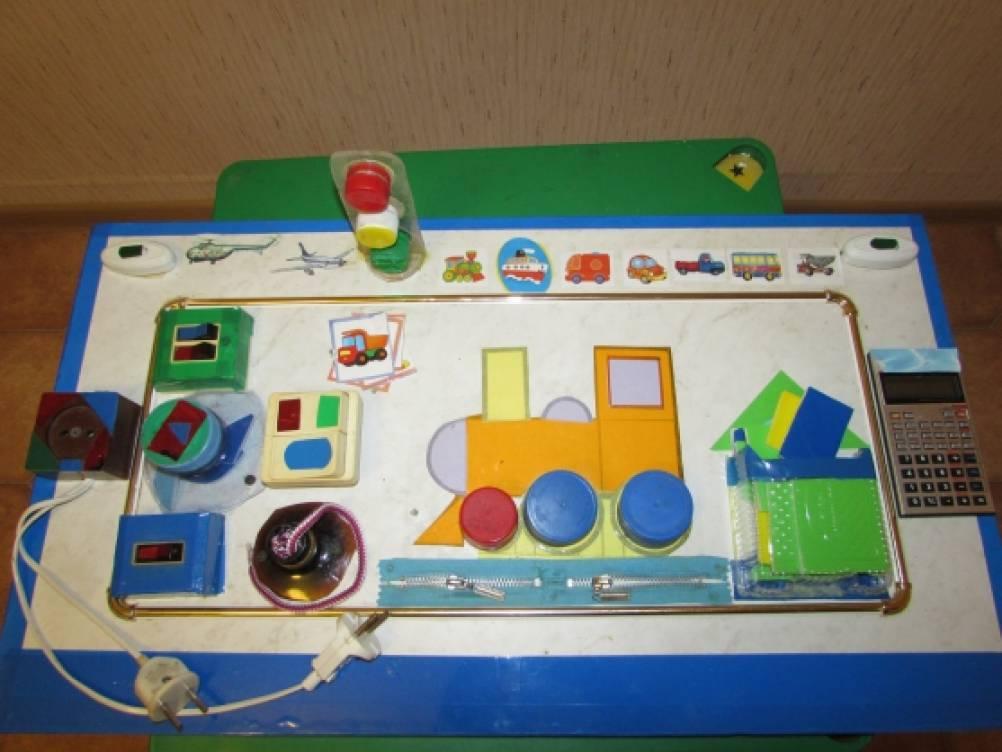 Игровое многофункциональное пособие «Транспорт» для детей младшего возраста