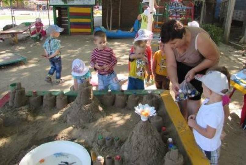 конспект песочная терапия старшая группа