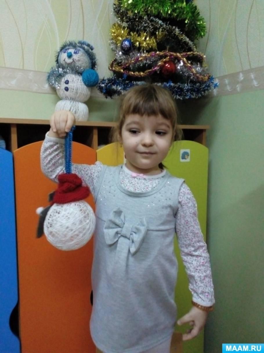 Фотоотчет о конкурсе работ «Новогодняя игрушка»