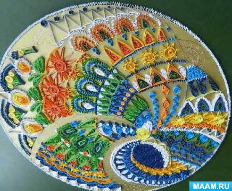Фотоотчет о декоративно-прикладном искусстве «Жар-птица»