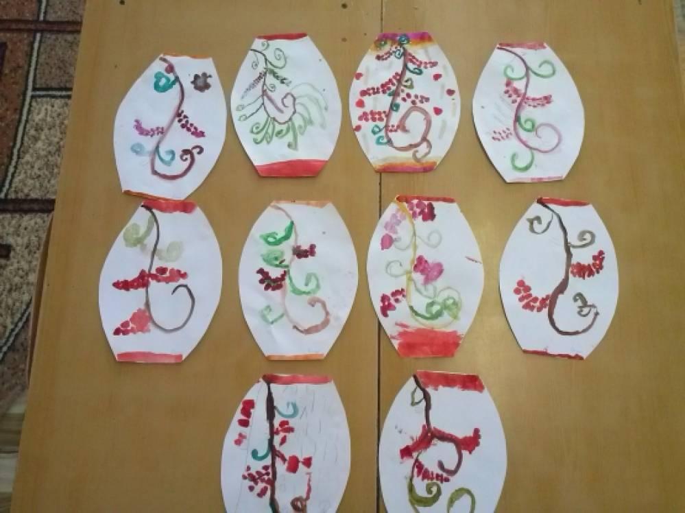 занятие в детском саду по знакомству с искусством