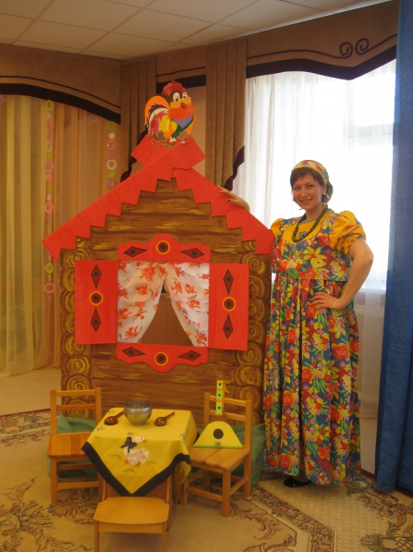 Декорации для детских спектаклей своими руками 975
