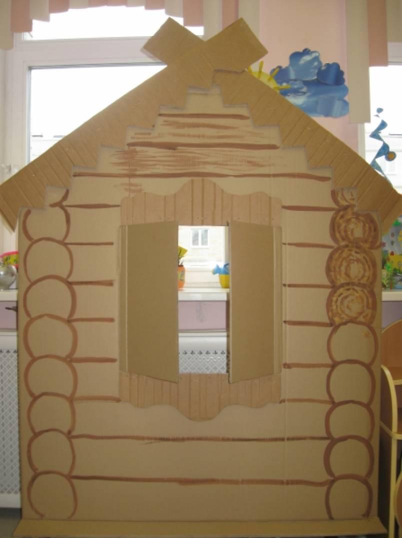 Избушка для детского сада своими руками 825