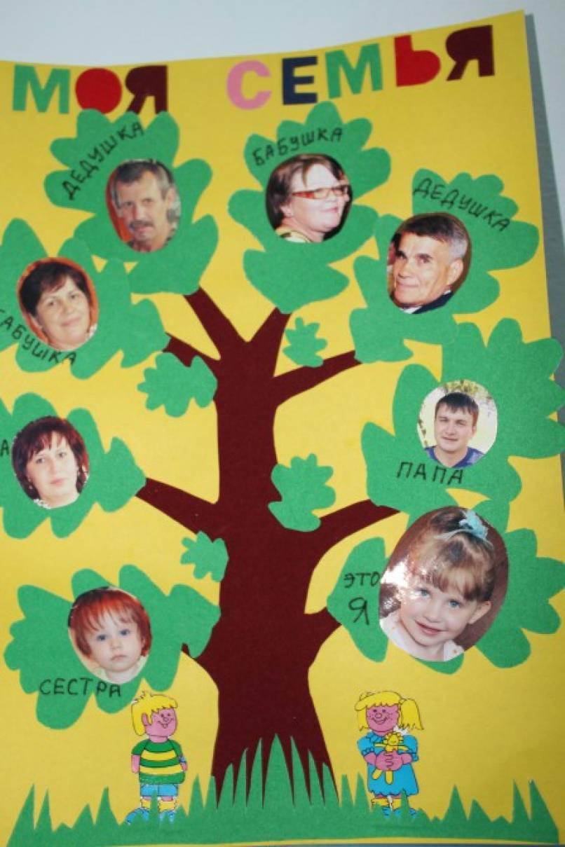 Древо своими руками в детский сад 27
