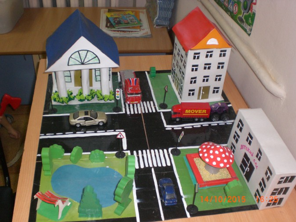 Макеты домов своими руками для детского сада