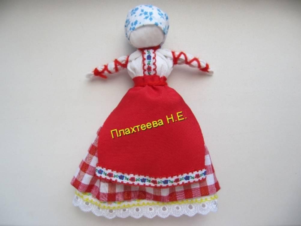 Губкинский музей освоения Севера - История одного экспоната. Кукла Покосница. ГМОС ОФ- 4644. 2008 год