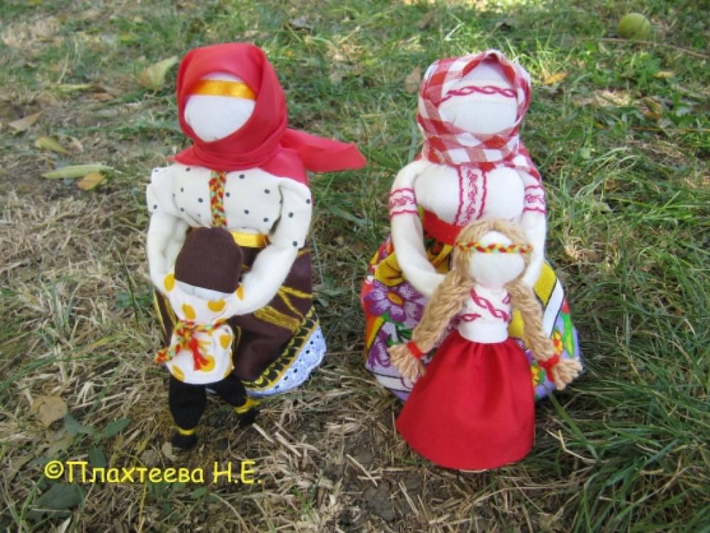 Старинная тряпичная кукла «Ведучка». Мастер-класс