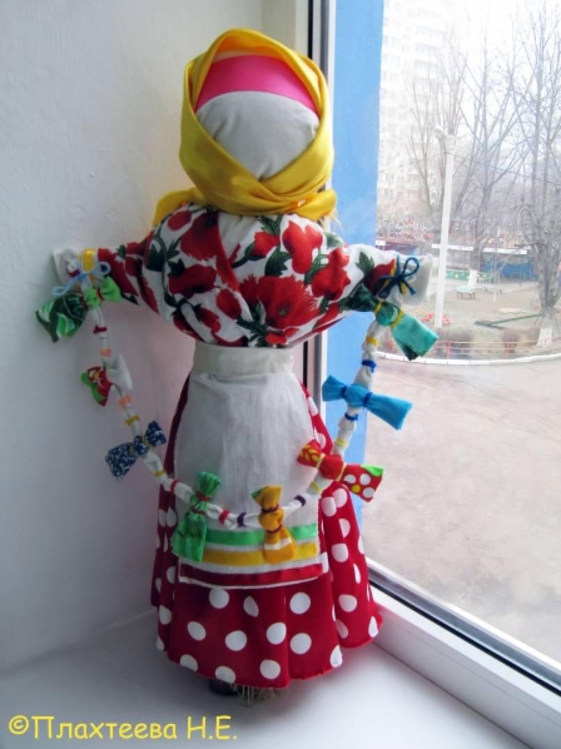 знакомство с русской куклой