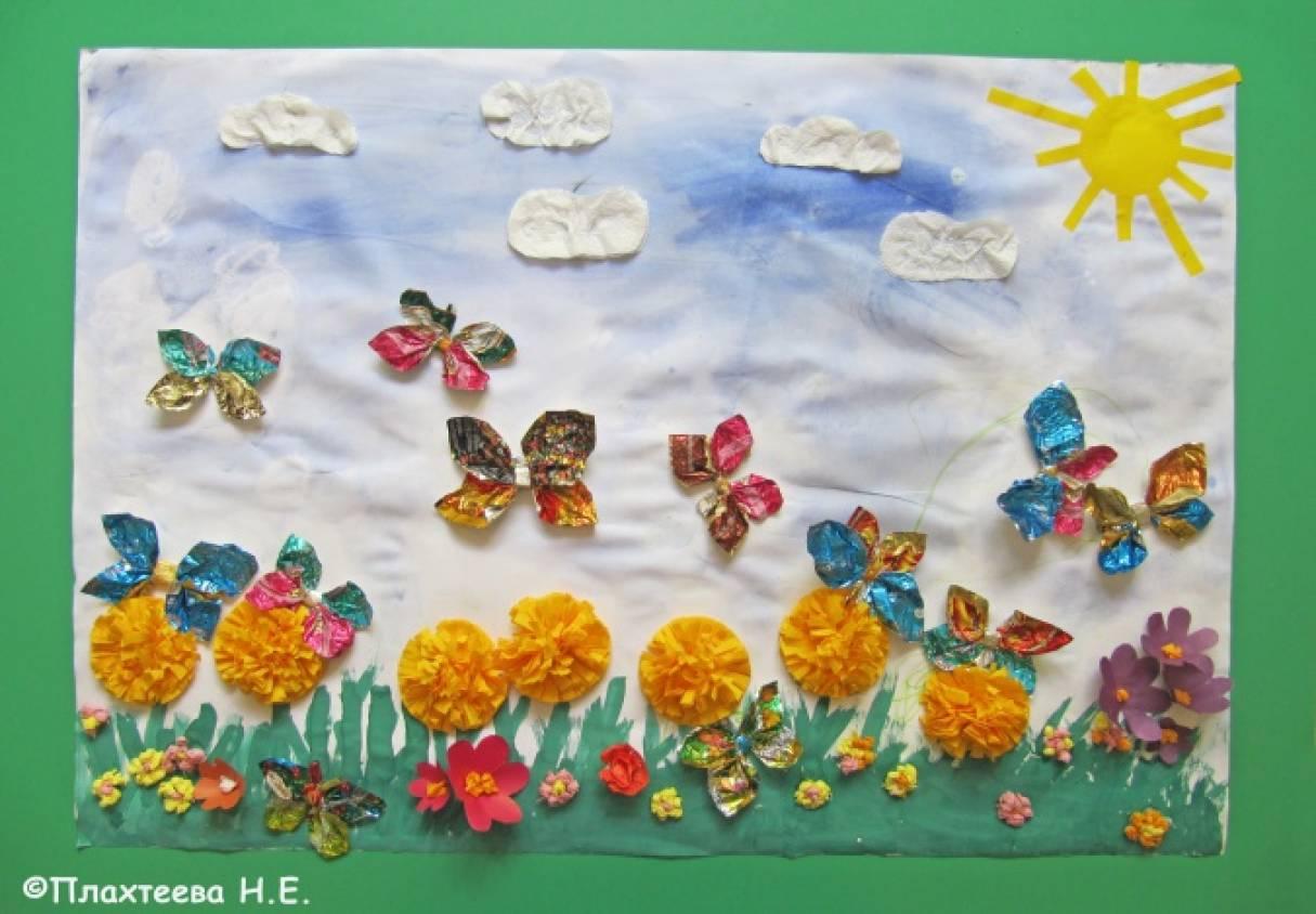 Поделки для детей 3-4 года на тему лето 43