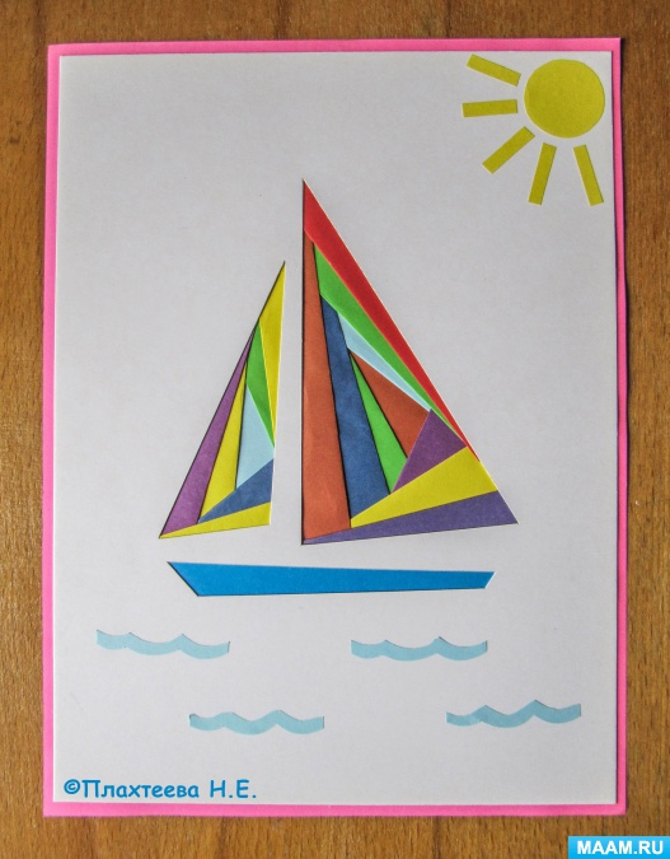 Открытка кораблик для детей, открыток для мам