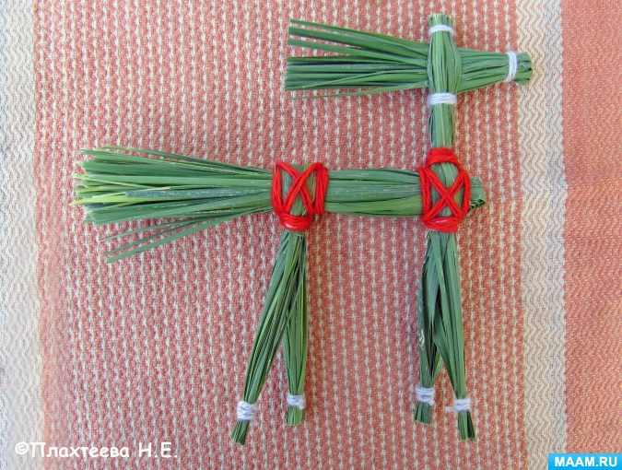 Мастер-класс по изготовлению старинной игрушки «Конь» из рогоза