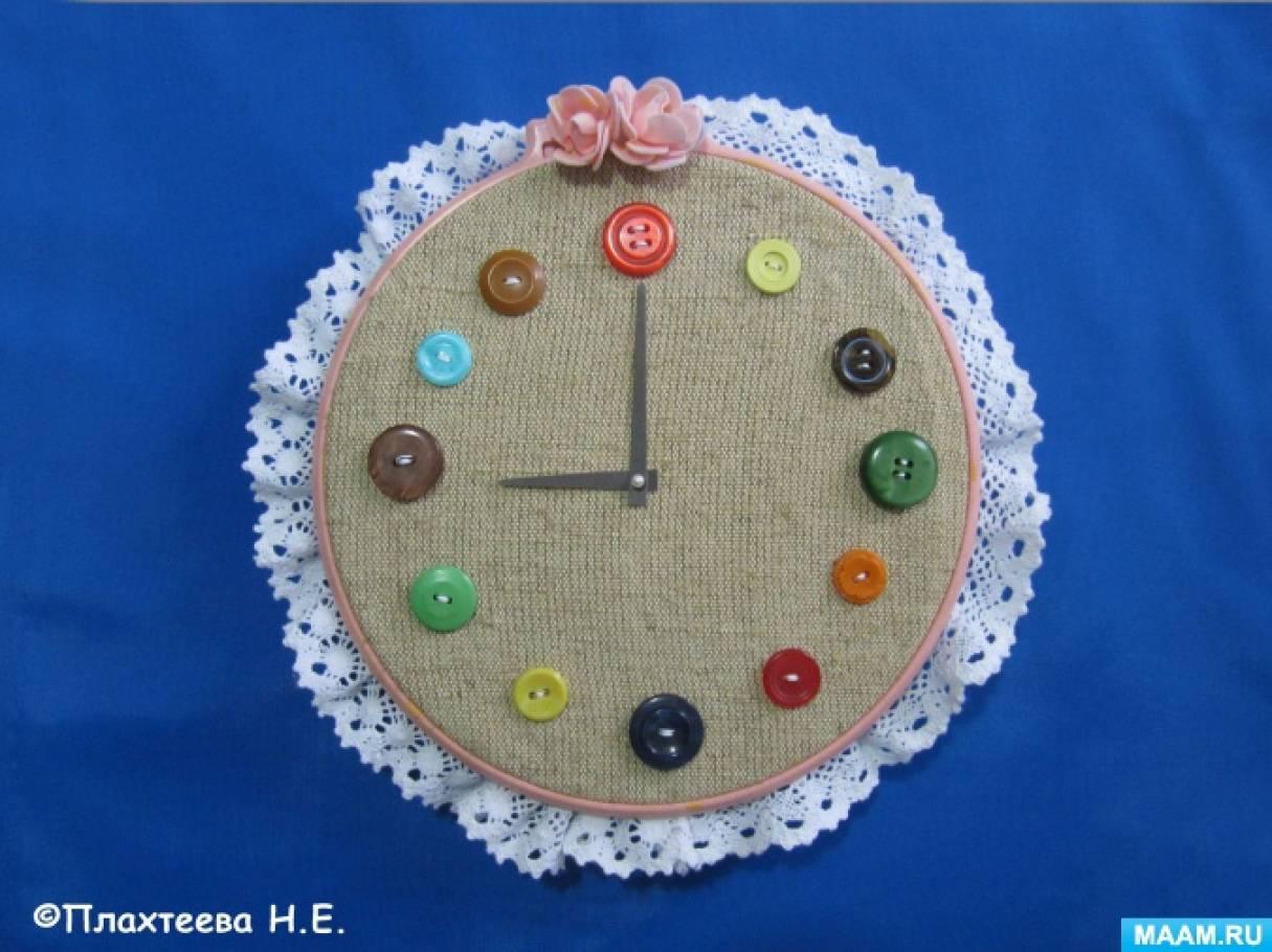 Настенные часы в стиле «Рустик». Мастер-класс