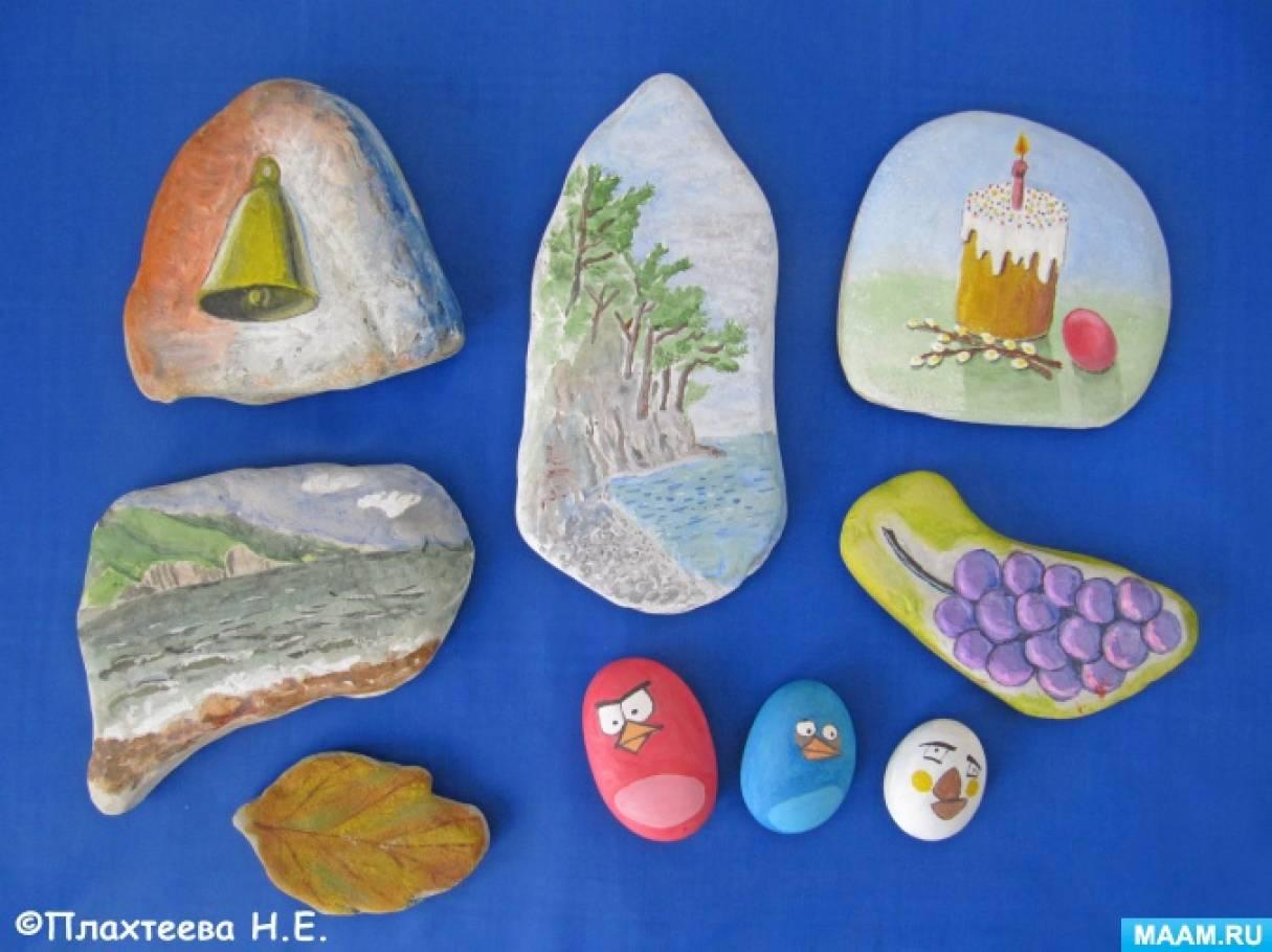 Наша коллекция расписных морских камушков