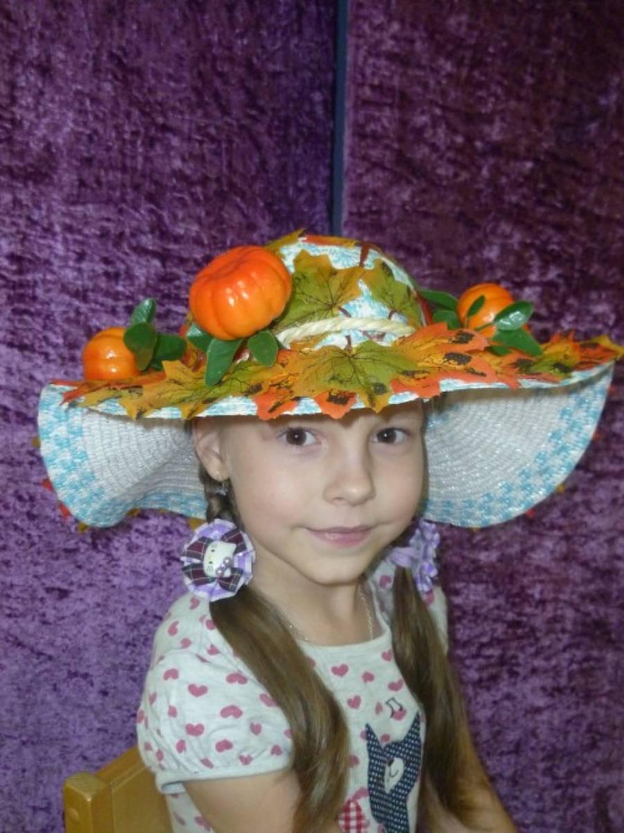 Шляпа фрукты своими руками 11