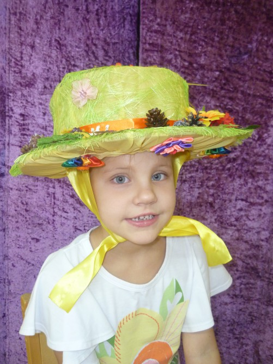 Шляпка своими руками осень 11