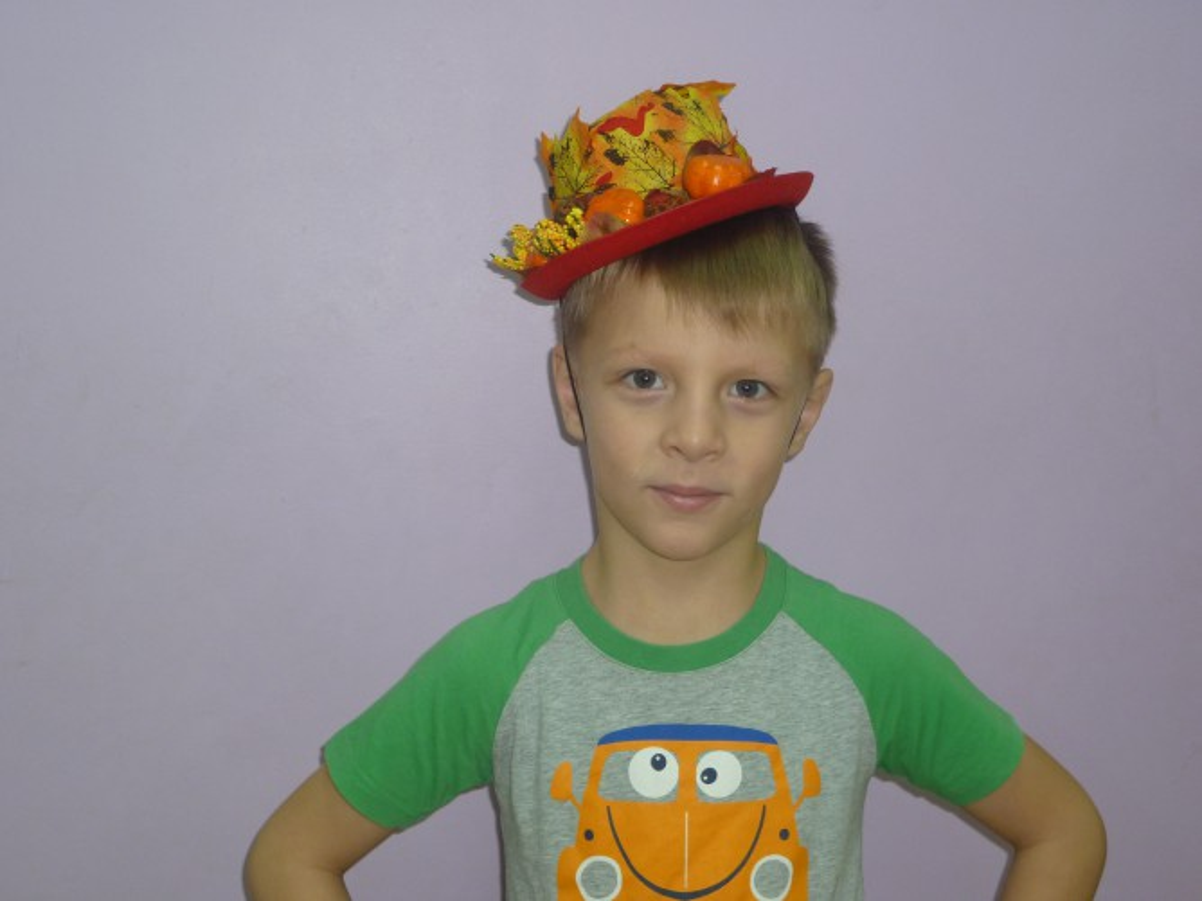 Шляпа мальчику своими руками 69