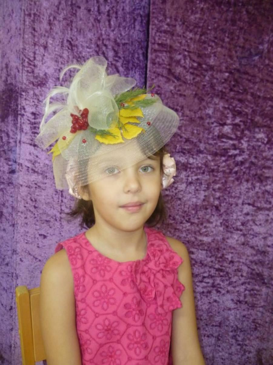 Детская шляпа своими руками для девочек