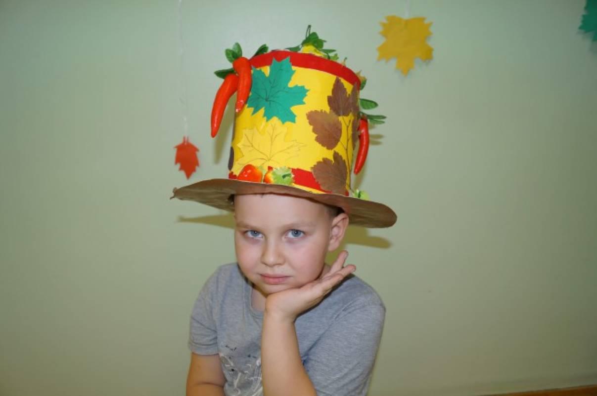 Шляпка своими руками осень 64