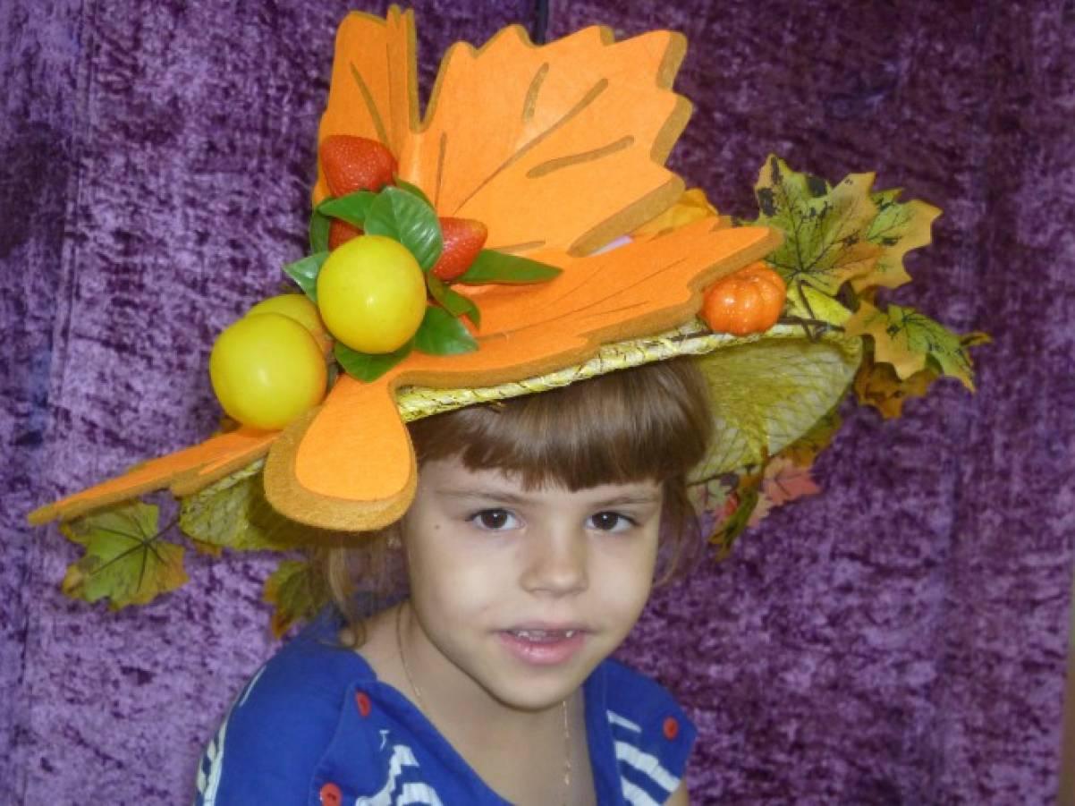 Шляпка своими руками осень 50