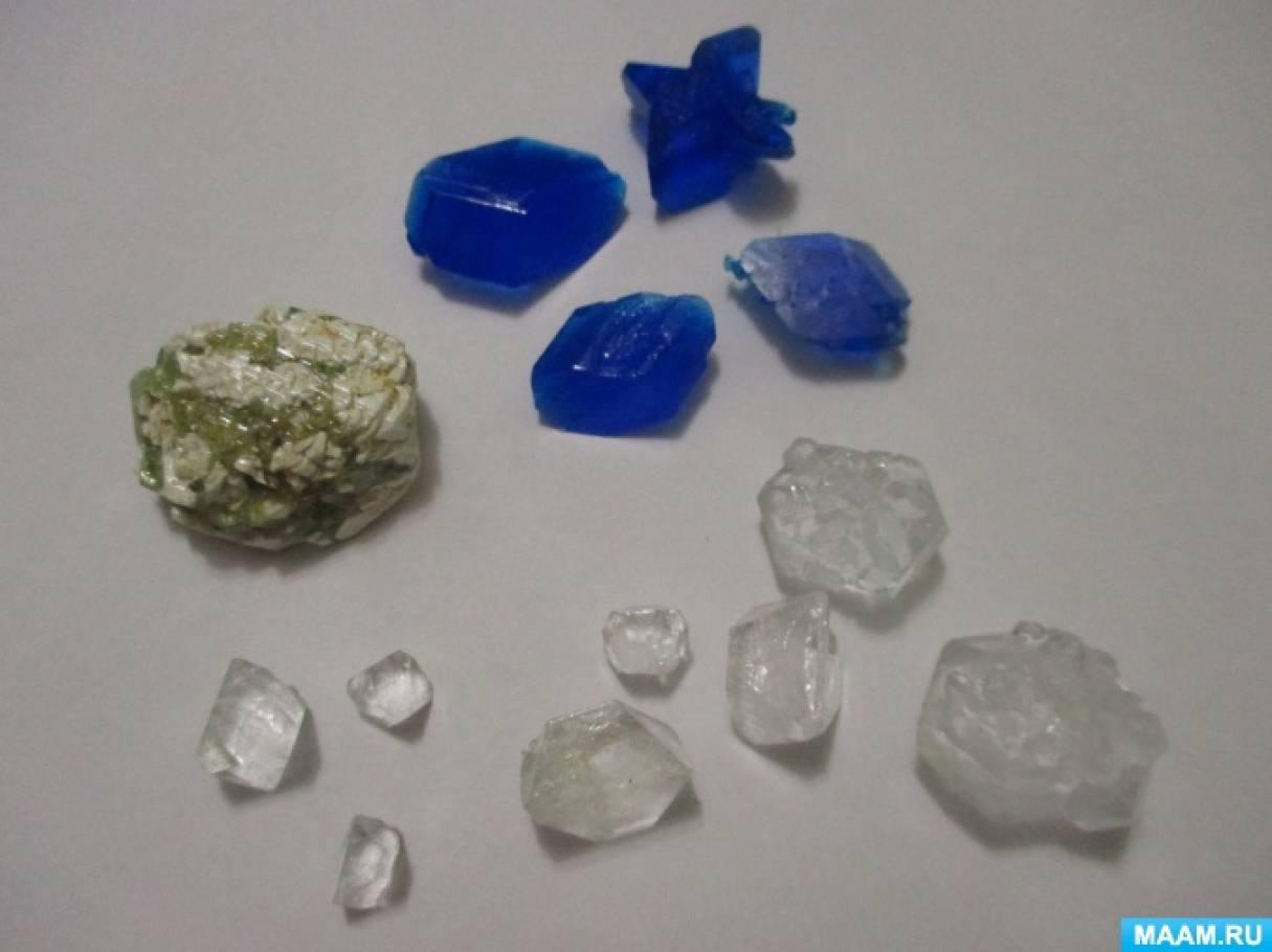 Консультация «Выращивание кристаллов в домашних условиях»