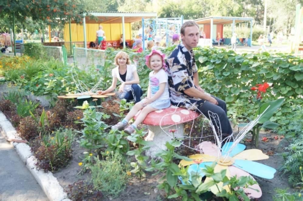 Фото ландшафтного дизайна для детского сада