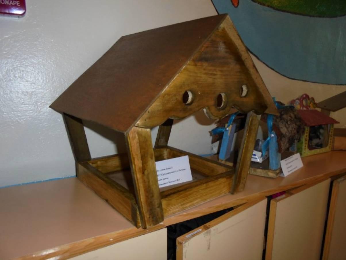 Кормушка для птиц своими руками на выставку