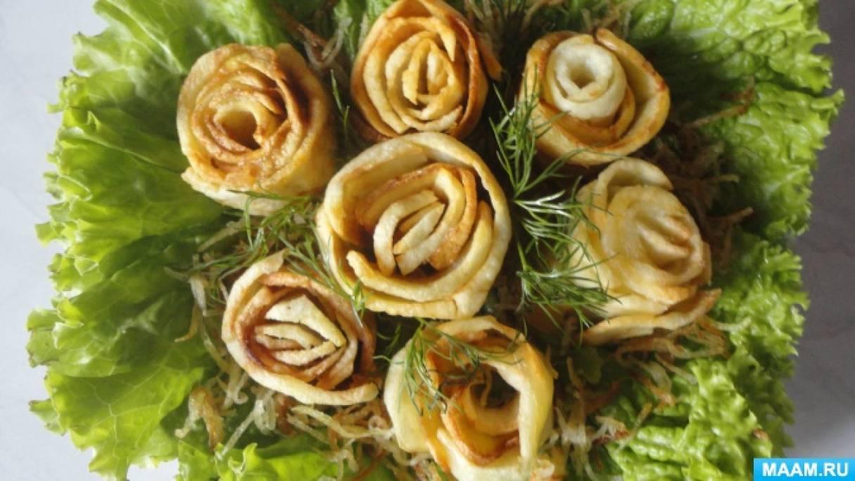 Рецепт «Картофельные розы»