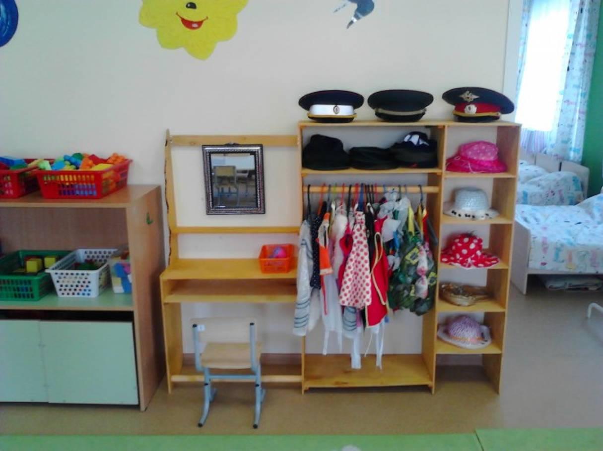 Уголок ряжения для детского сада своими руками 384