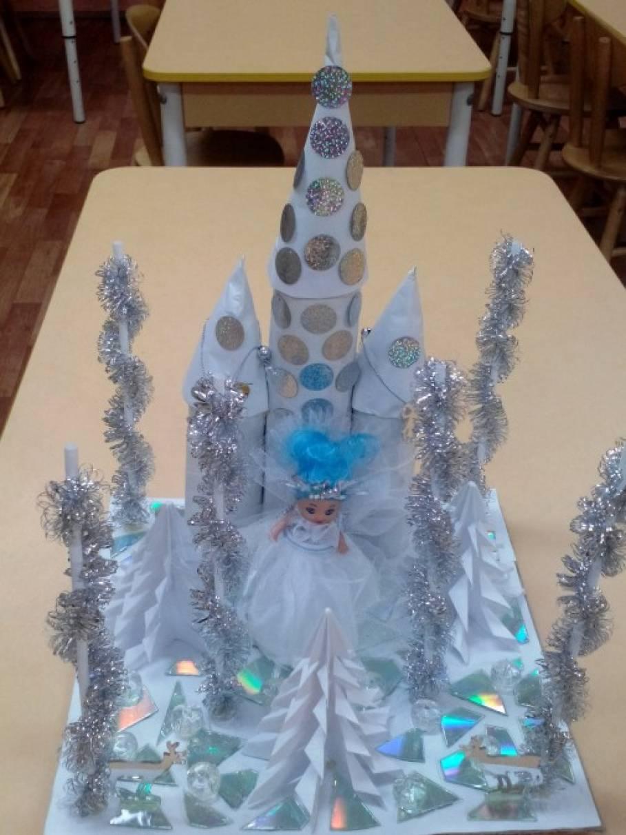 Замок для снежной королевы своими руками 91