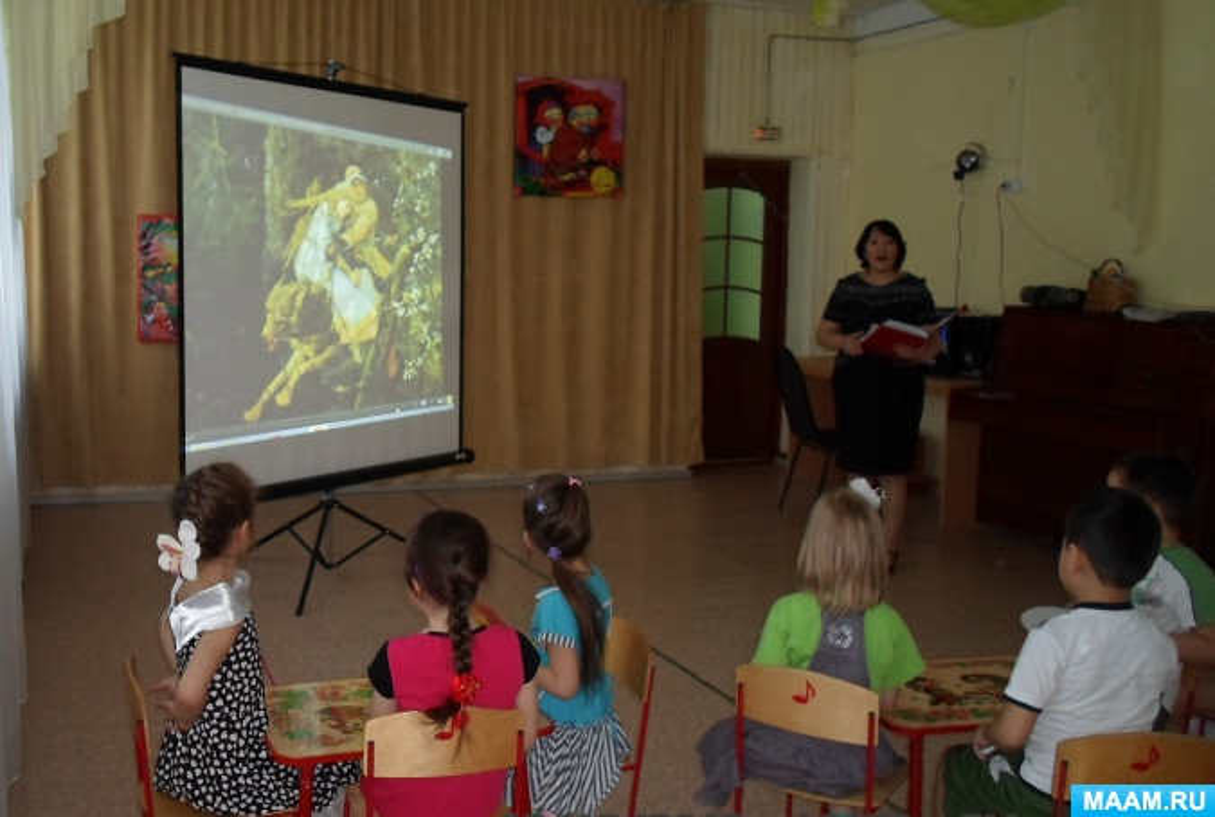Кружковая работа по театральной деятельности детей старшего дошкольного возраста посредством ИКТ