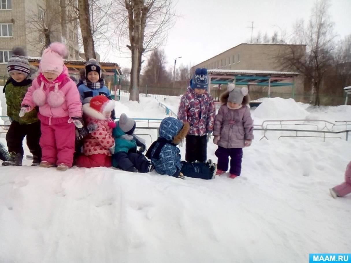 «Зимний участок 2 младшей группы»