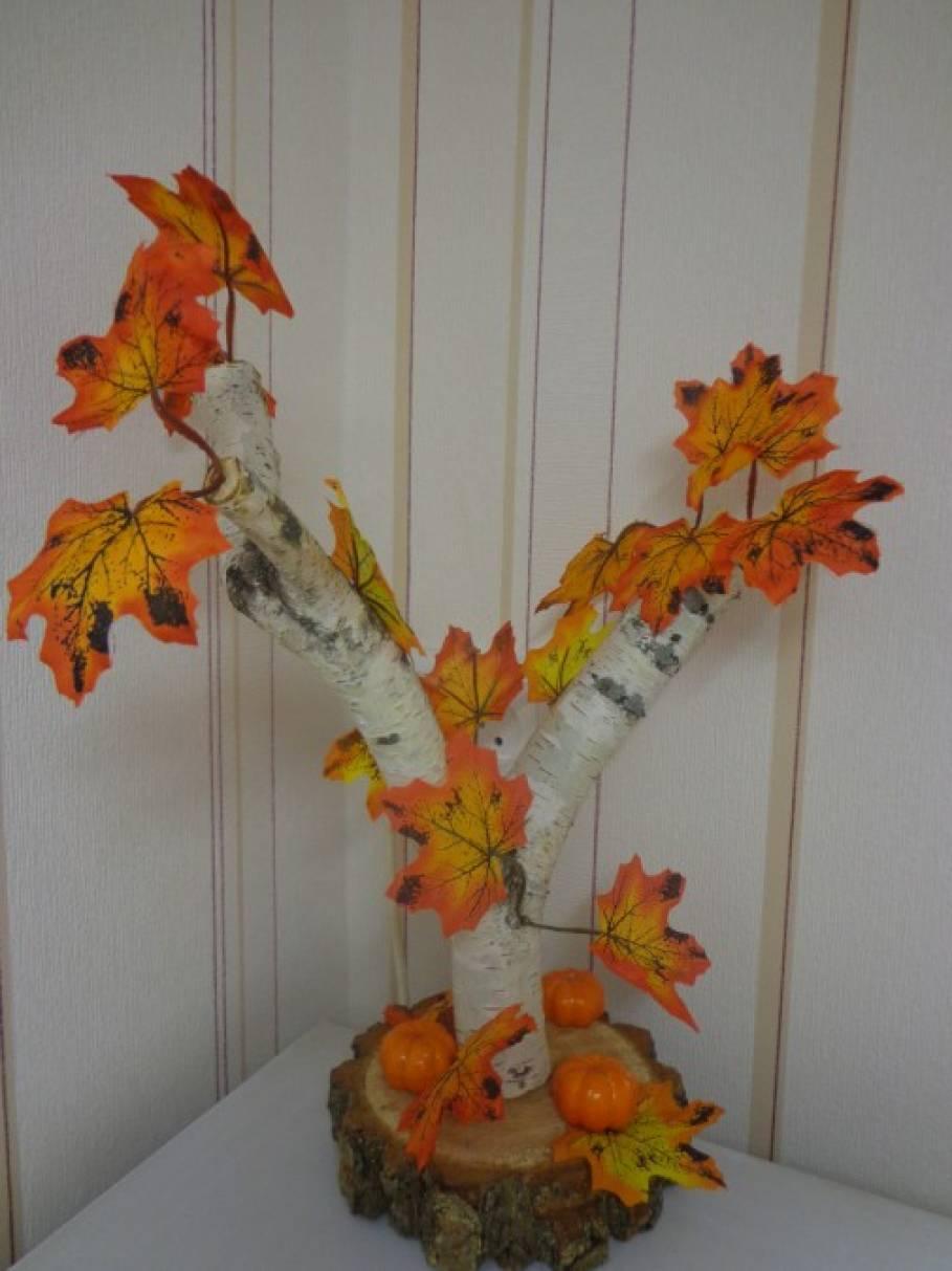 Осенние поделки из природного материала для конкурса