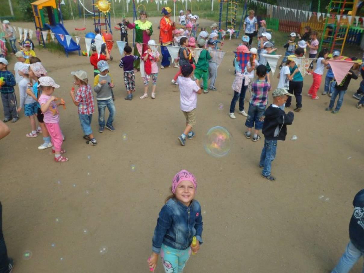 Сценарий спортивного развлечения «Мыльные пузыри»