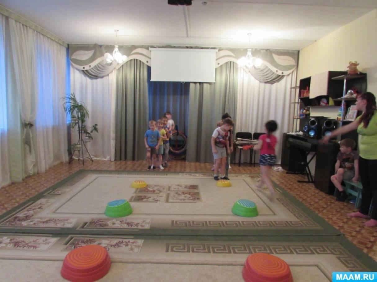 Сценарий физкультурного досуга для детей 6–7 лет «Туристы на горе Пугачевке»