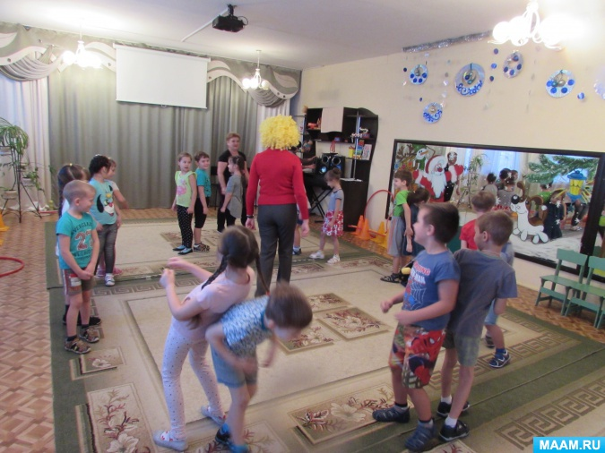 Физкультурный досуг «Здоровье и спорт»» для детей 6–7 лет