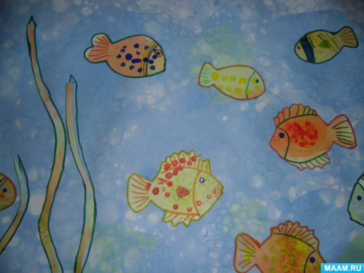 познакомиться рисование рыбки в средней группе картинки что бозо повышает