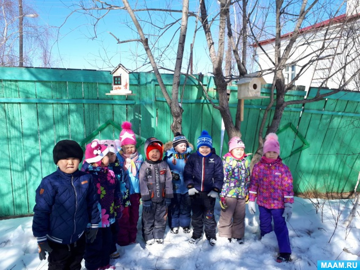 Проект «Птицы Якутии зимой»