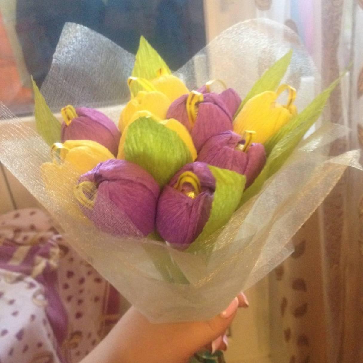 Тюльпаны доставка, весенний букет праздник для мамы