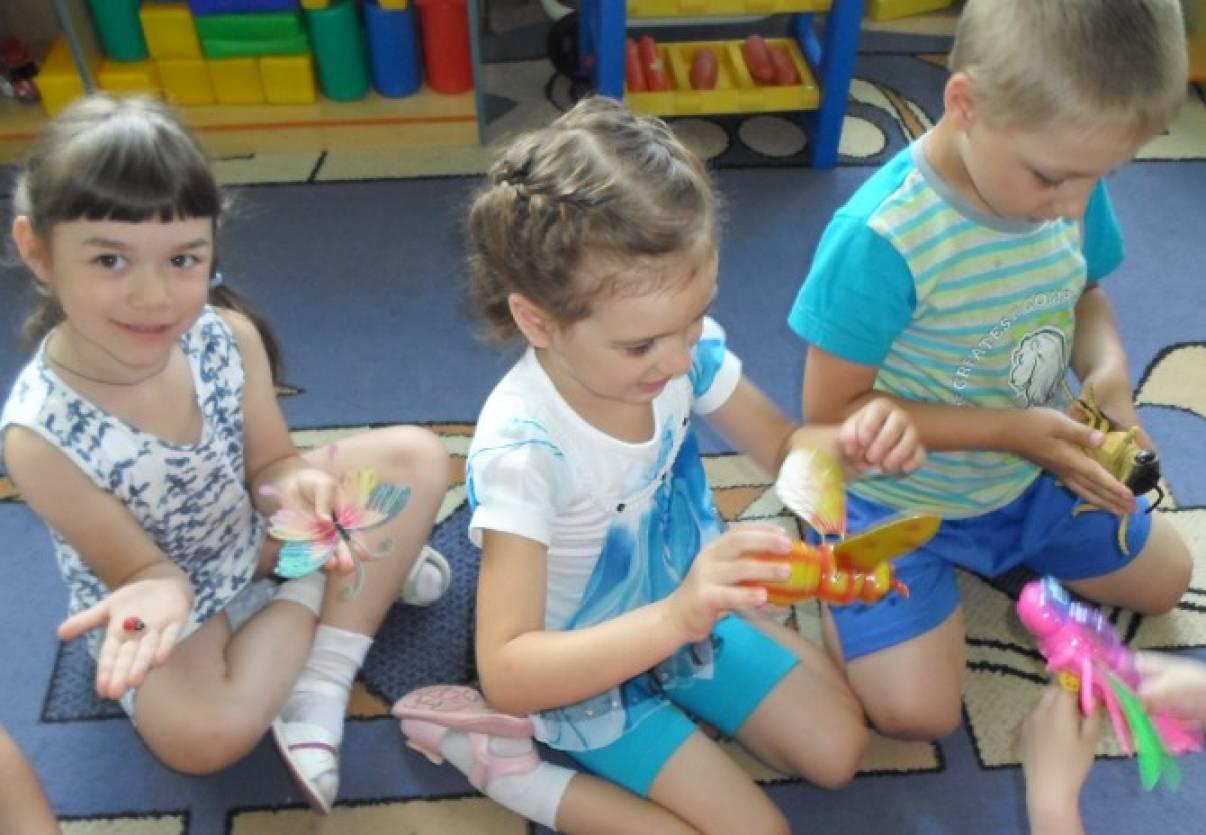 знакомство с насекомыми для дошкольников