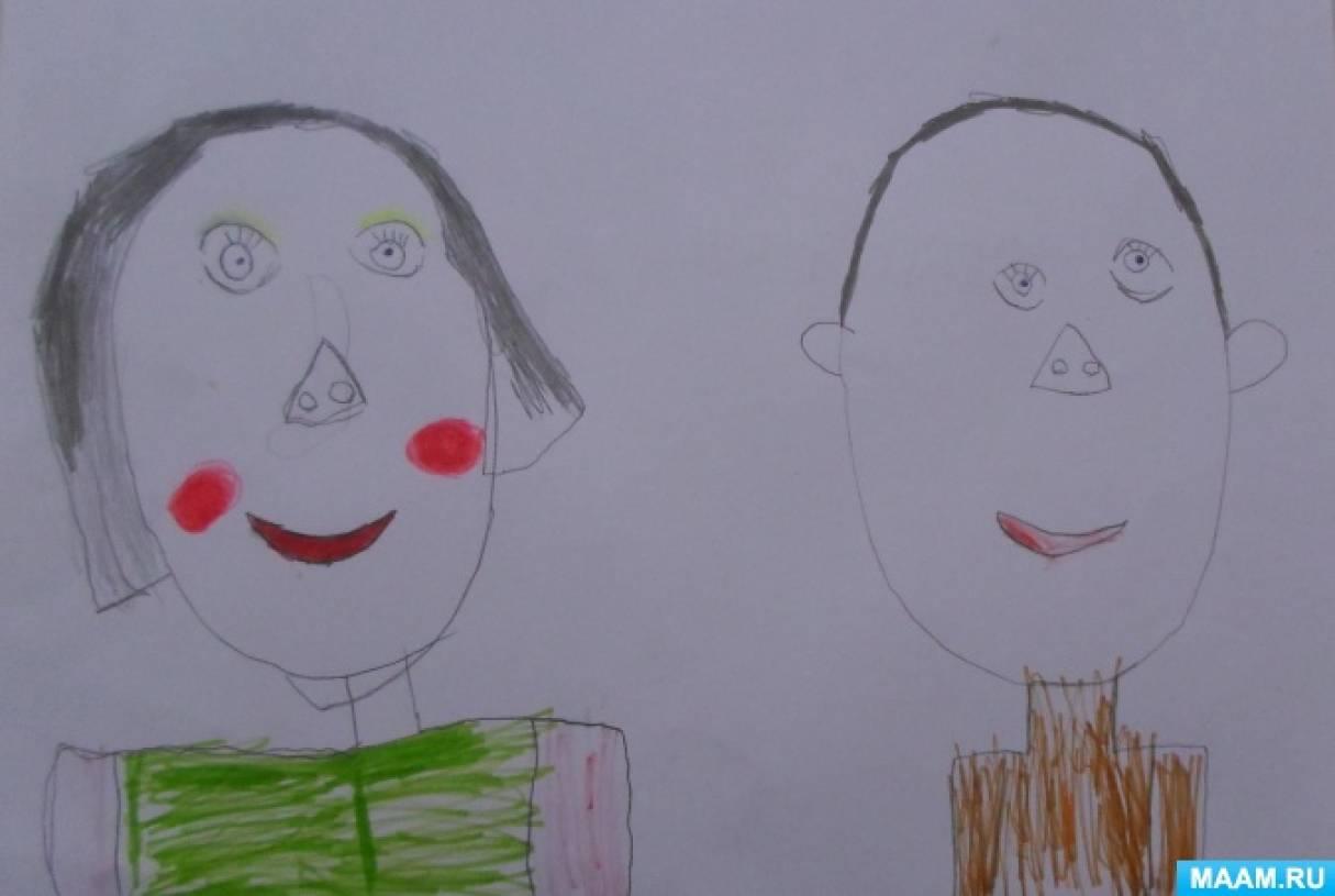 Чем рисуют дети в подготовительной группе