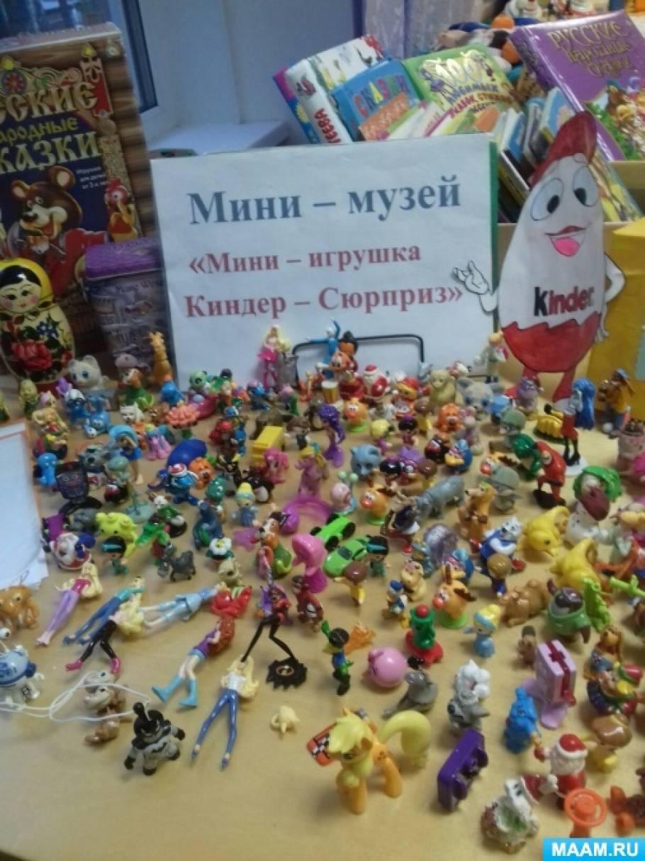 Паспорт мини-музея «Мини-игрушка Киндер-Сюрприз»
