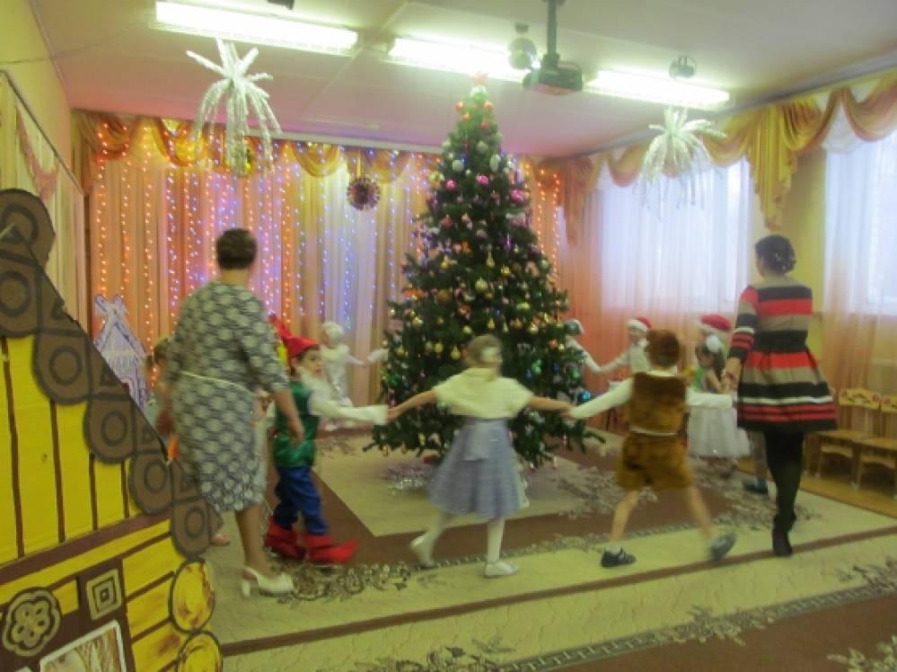 Фотоотчёт новогоднего праздника.