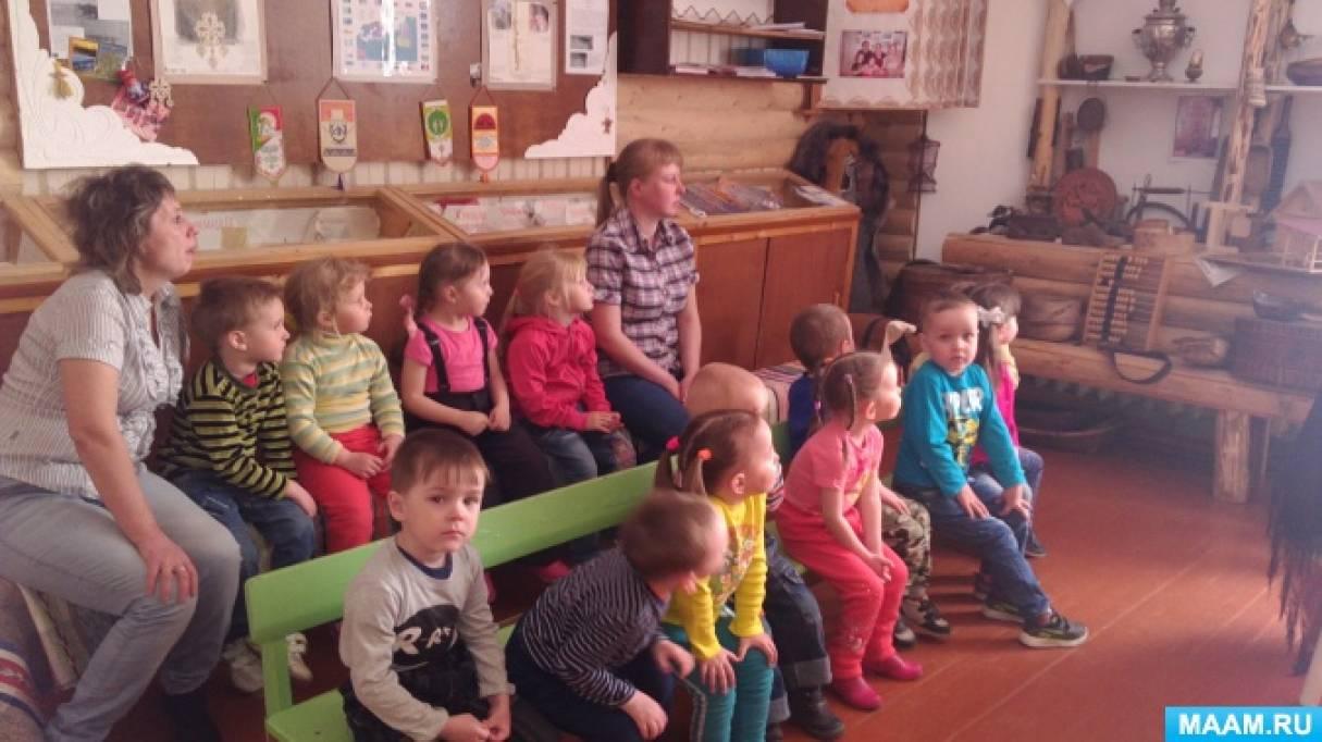 Посещение музея «Коми изба»